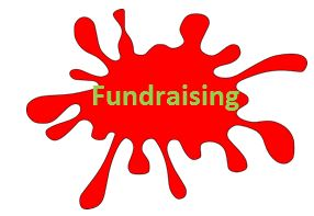 Red Paint SPlot Fundraising