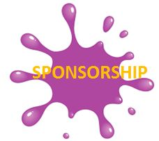 Purple Paint Splot Sponsorship