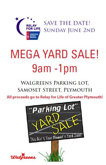 Mega Yard Sale Flyer