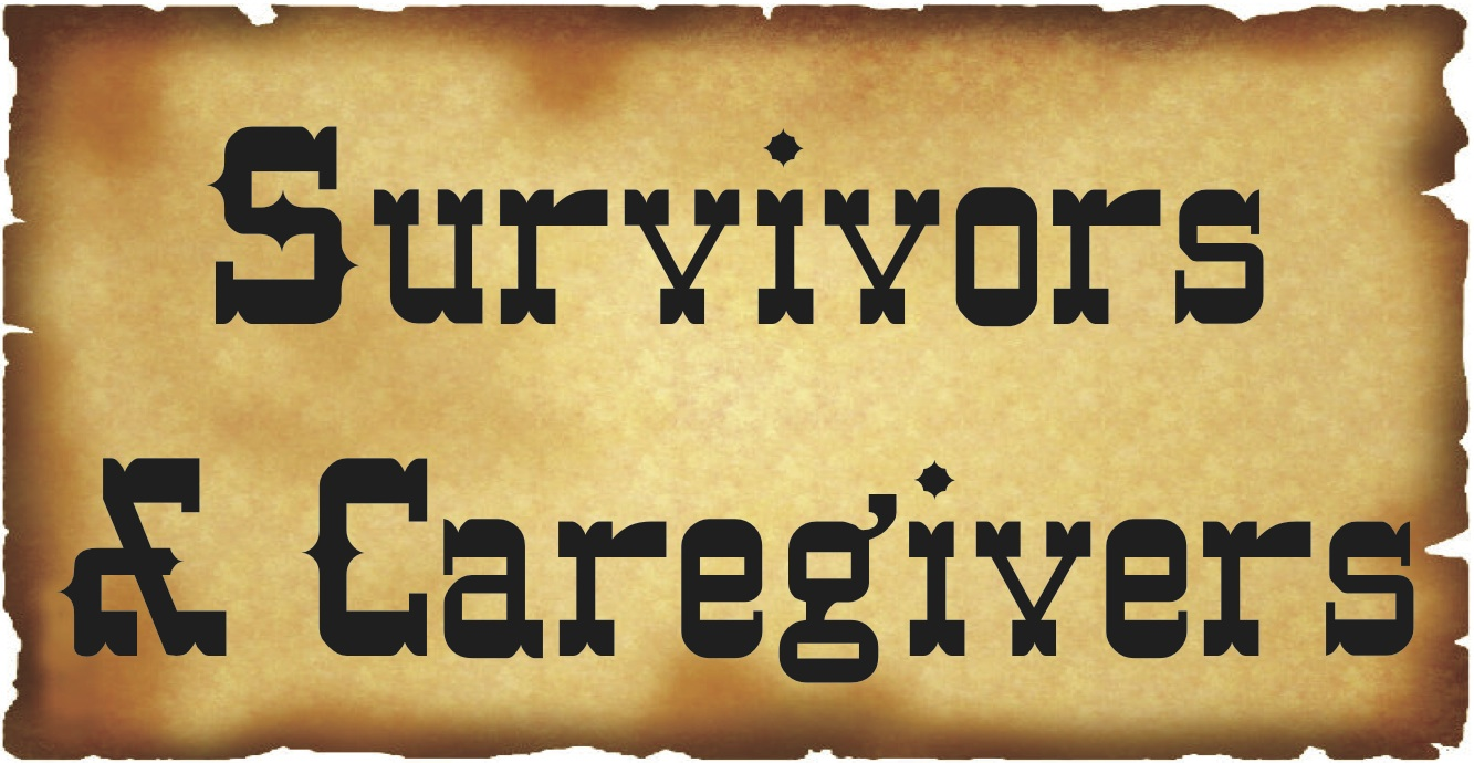 Survivors & Caregivers Button
