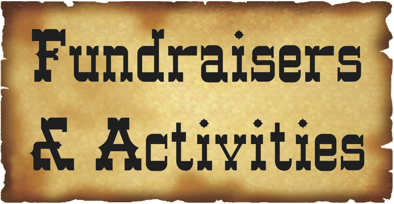 Fundraisers & Activities Button