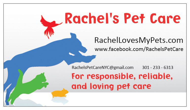 Rachels Pet Care Logo