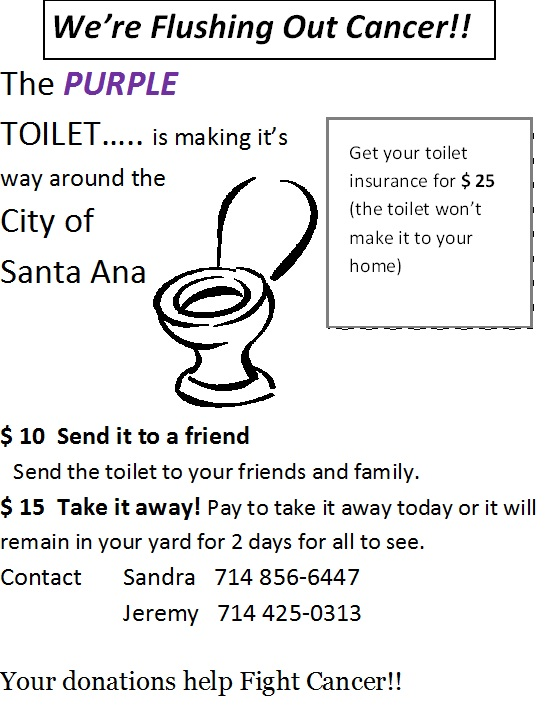 Purple toilet Flyer jpeg