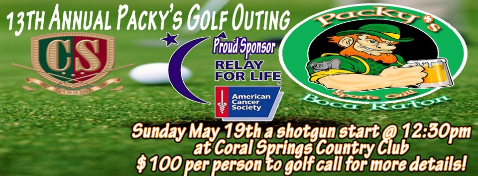 packys golf tourney
