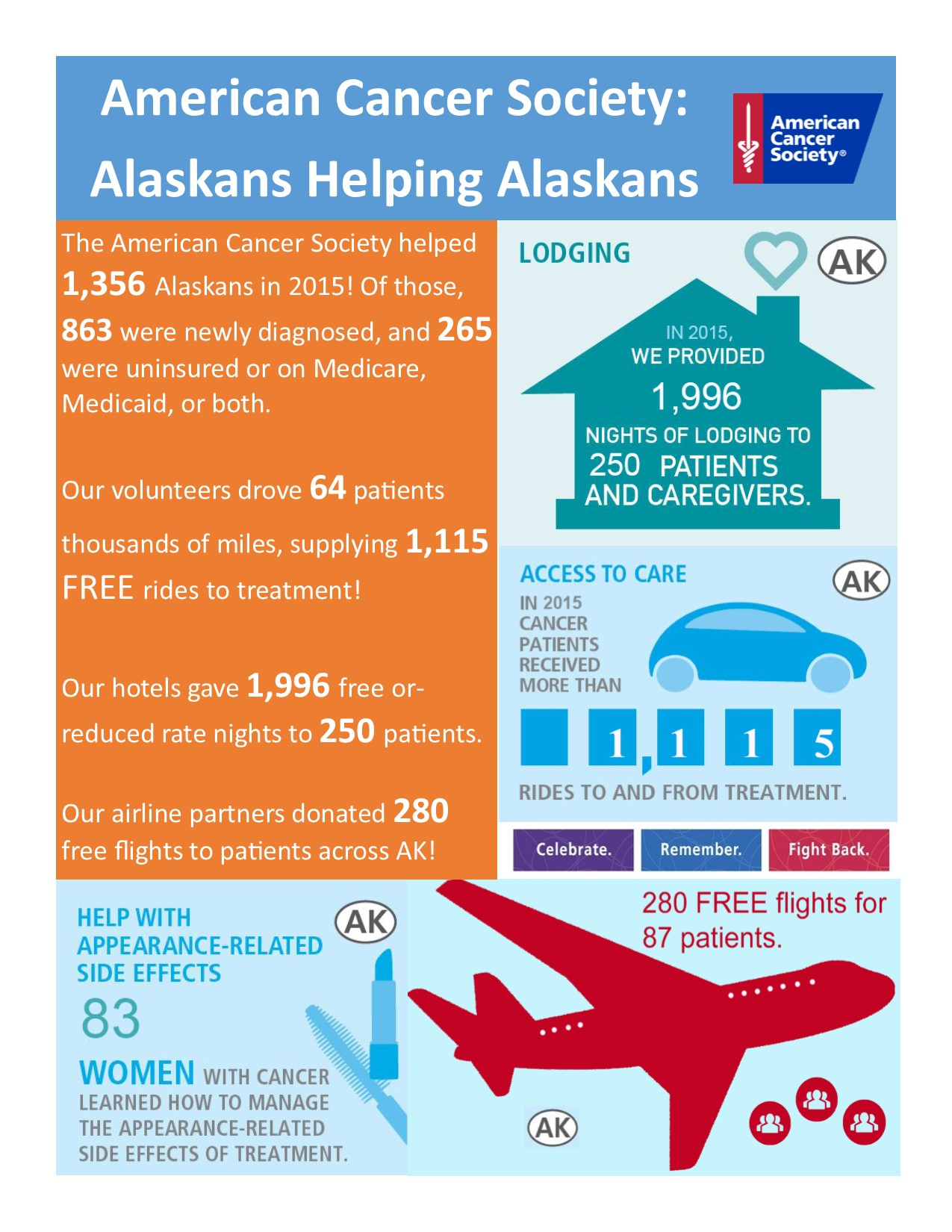 Patients Served in Alaska (2015)