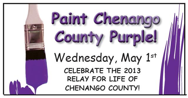 Announcements - 2013 Paint the County Purple2
