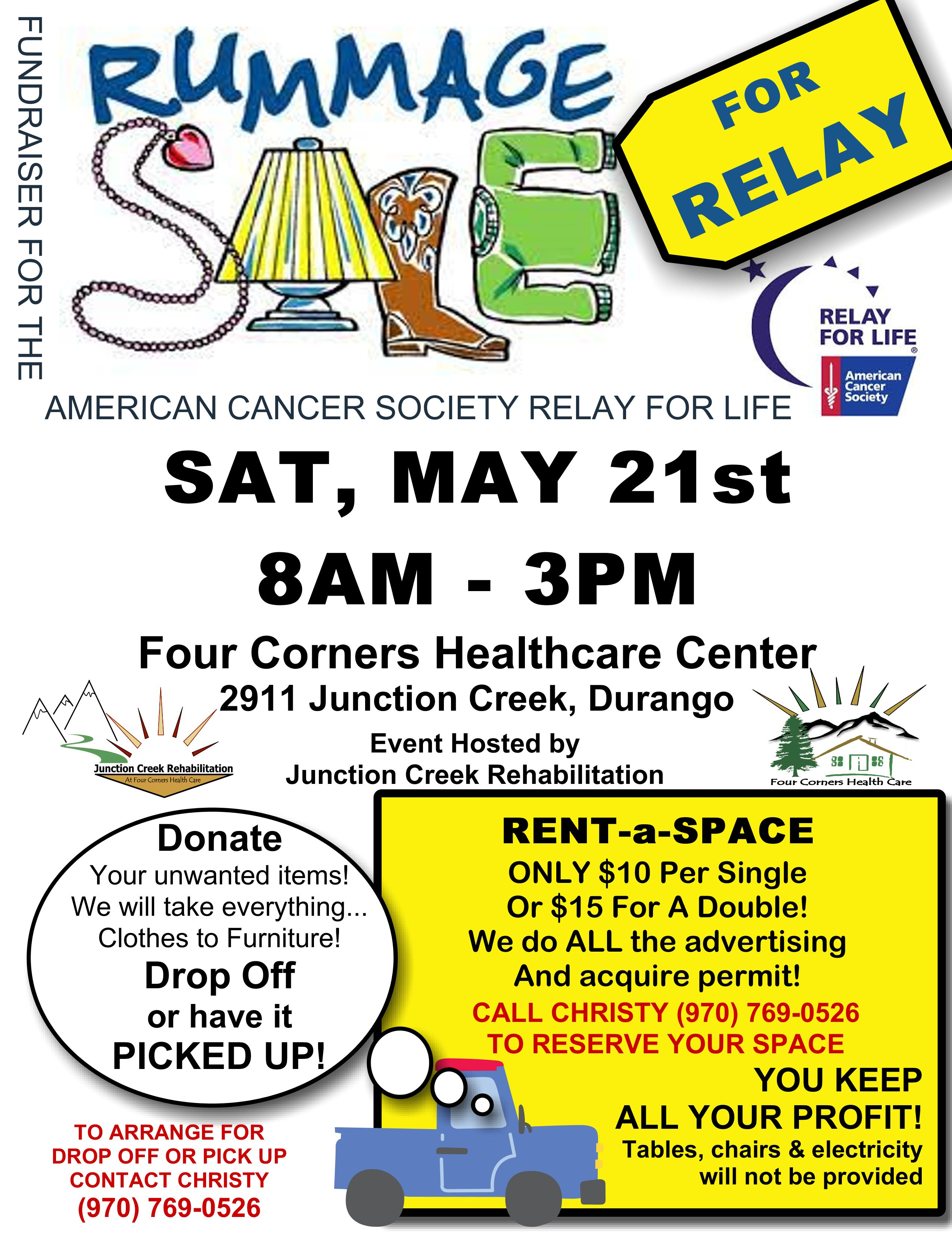 Rummage For Relay