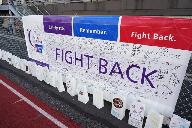 Fight Back Signed Banner