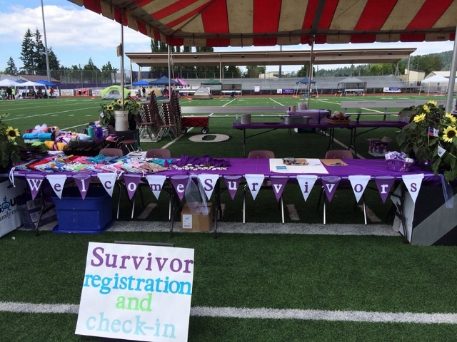 Survivors Tent Pre-Celebration