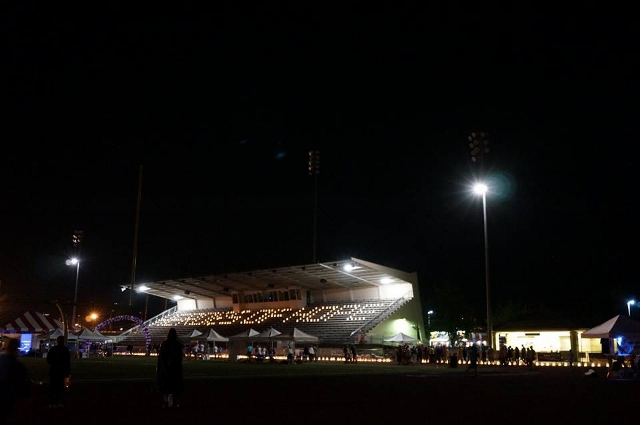Heroes of Hope Illuminated Grandstand