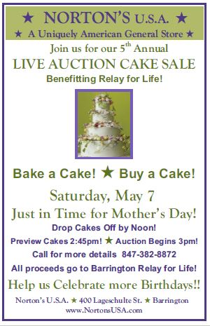 Cake Auction 4.11.2016 Updated Flyer