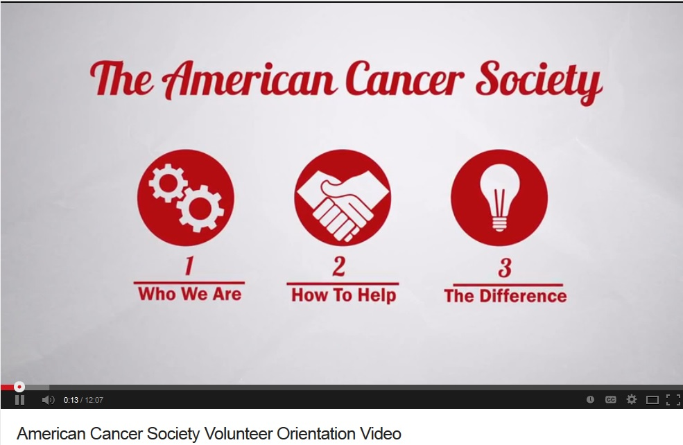 ACS Volunteer Orientation Video - Cover Photo