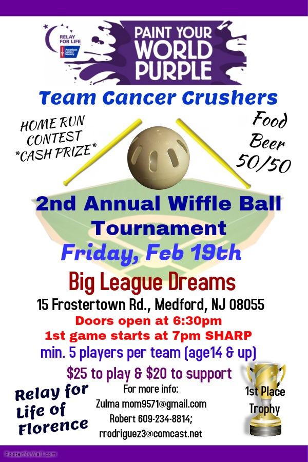 Cancer Crushers Fundraiser 2