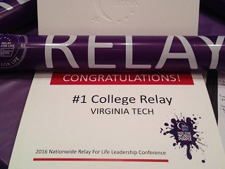 Virginia Tech Relay Award