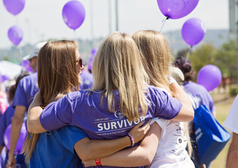Media Wall_Survivor 3 Friends Hug Embrace