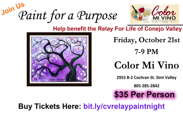 Paint Night - Oct 21-7pm-9pm - Half Sheet