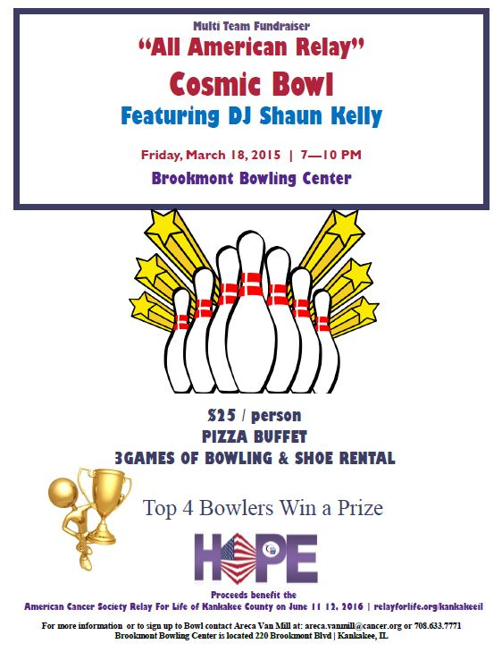 Multi Team Bowling Fundraiser