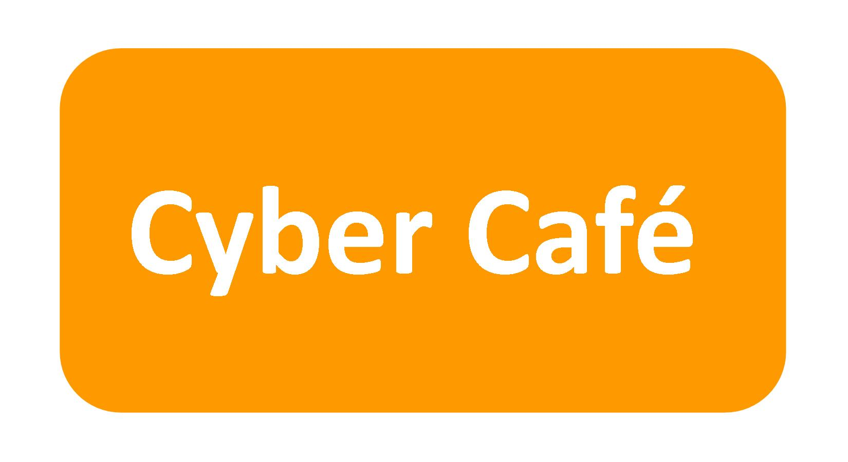 cyber cafe button