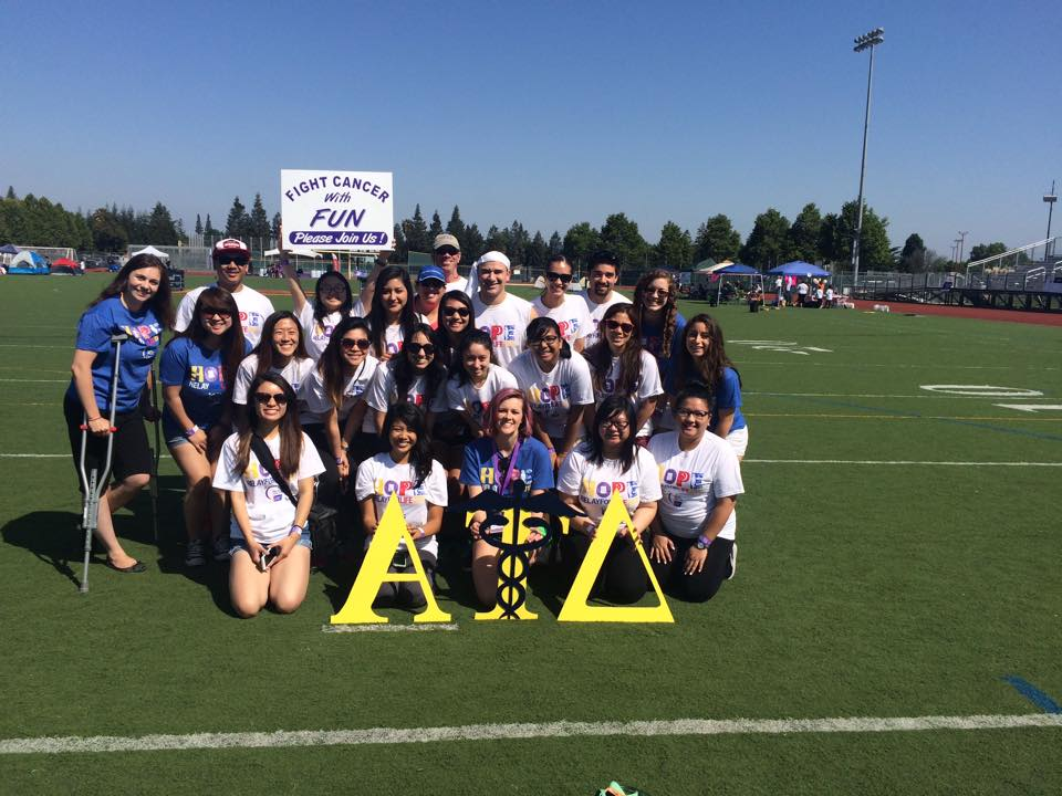 Alpha Tau Delta team pic