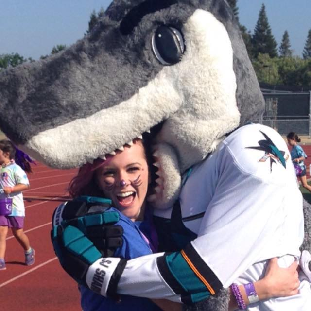 mackenzie with sharkie