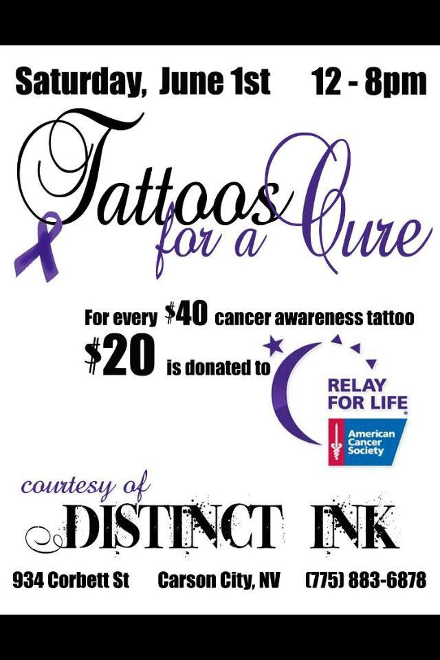 Tattoos for A Cure