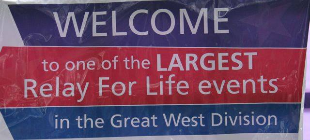 The ACS Great West Welcome Sign