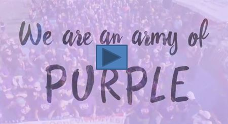 VIDEO - We are an Army of PURPLE