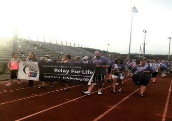 Relay Walk - Media Wall