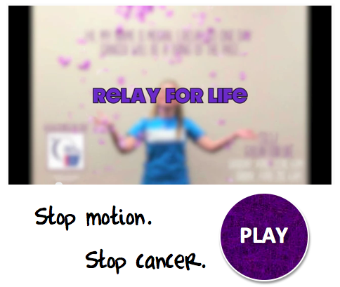 Stop motion, stop cancer