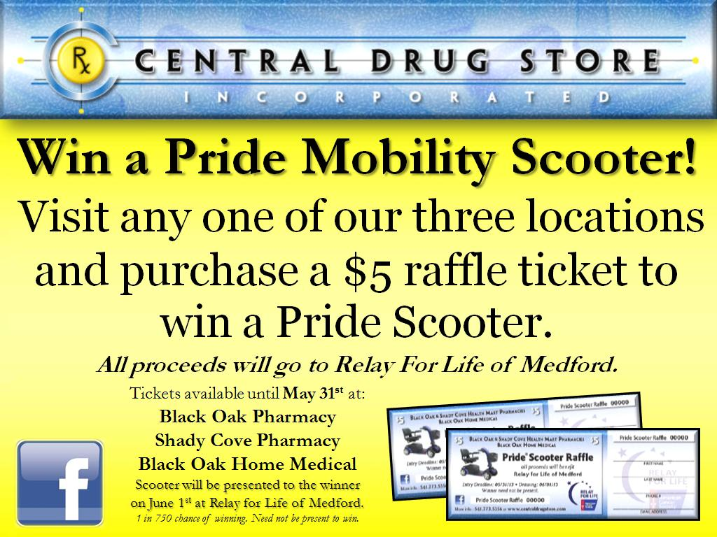 Pride Scooter Flyer