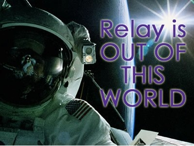 Relay is out of this world