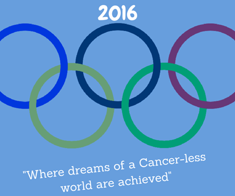 Olympics cancer-less world