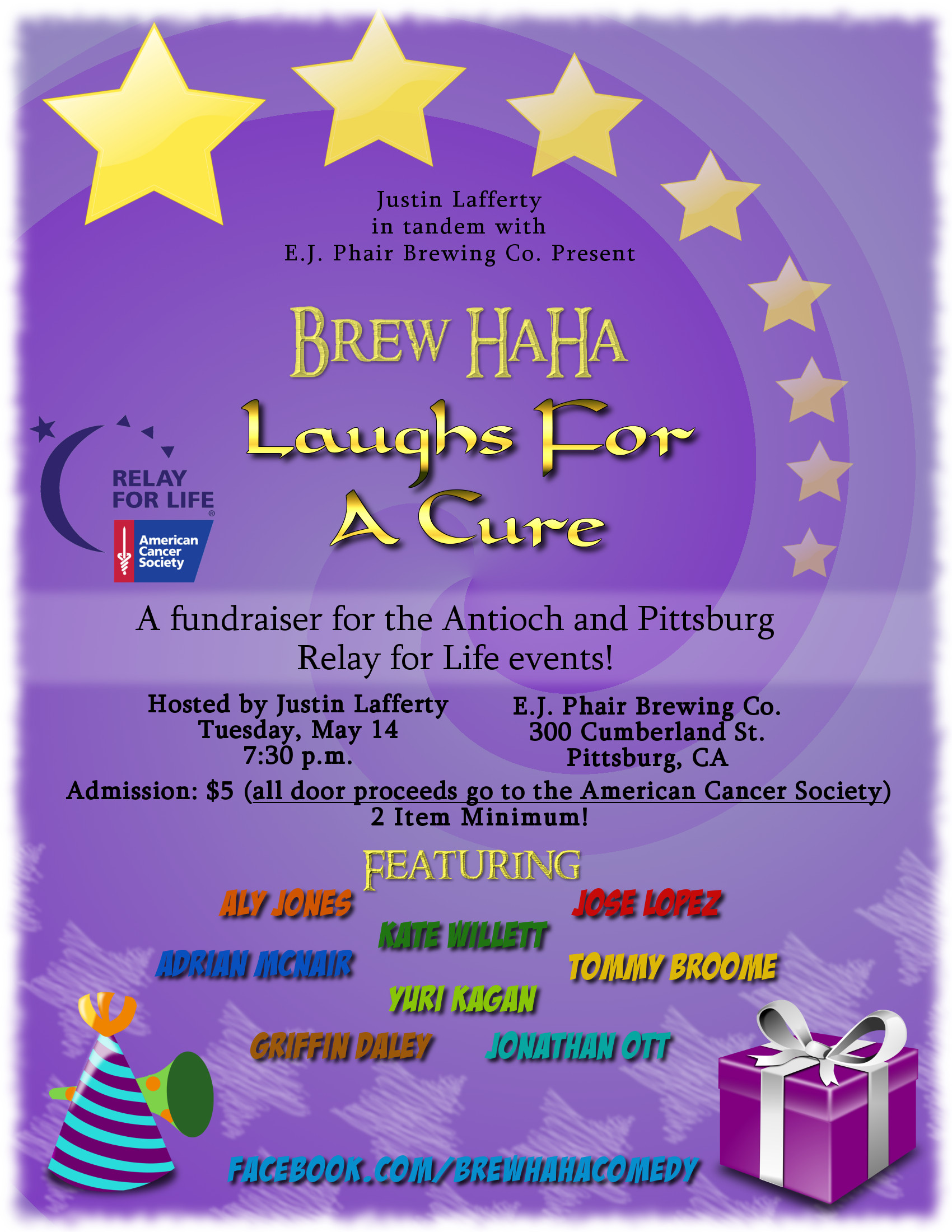 Relay for Life Comedy Show