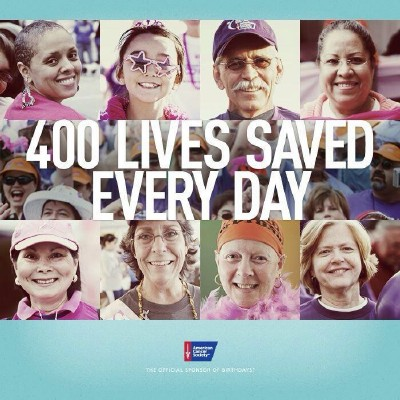 400 Lives Saved Every Day