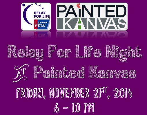 Painted Kanvas Event Flyer