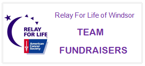 team fundraisers button
