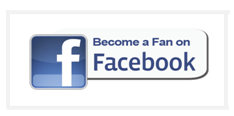 Fan on FB button