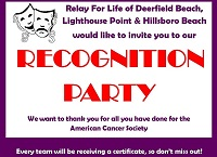 recognition party flyer - xsmall