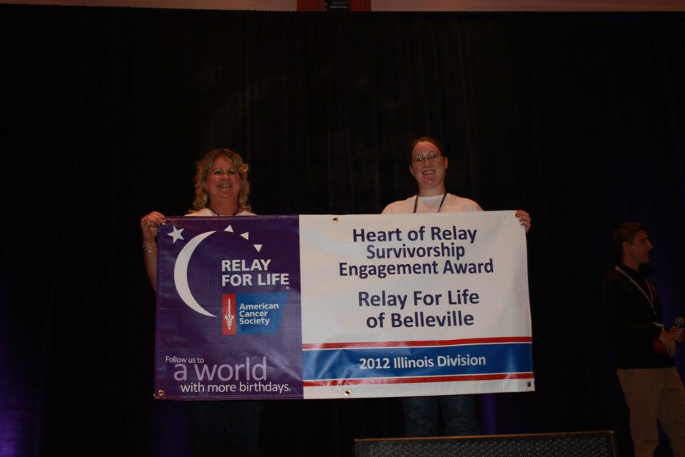 Heart of Relay award