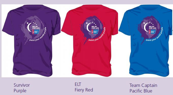 2016 Relay T-Shirts
