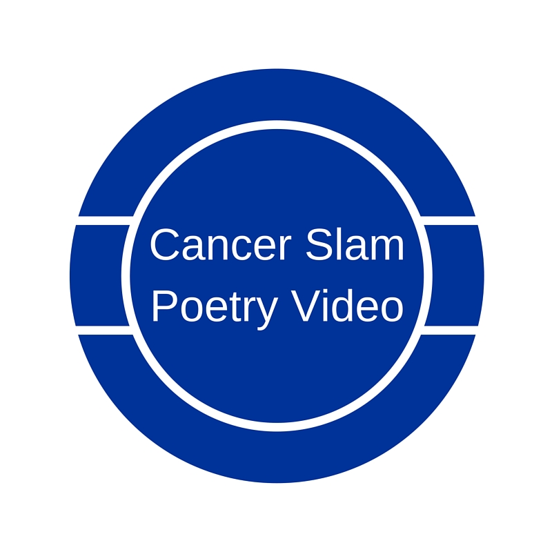 Cancer Slam Poetry Button