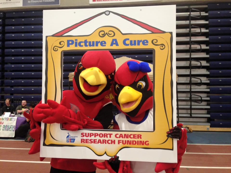 Coop and Scarlet Picture A Cure
