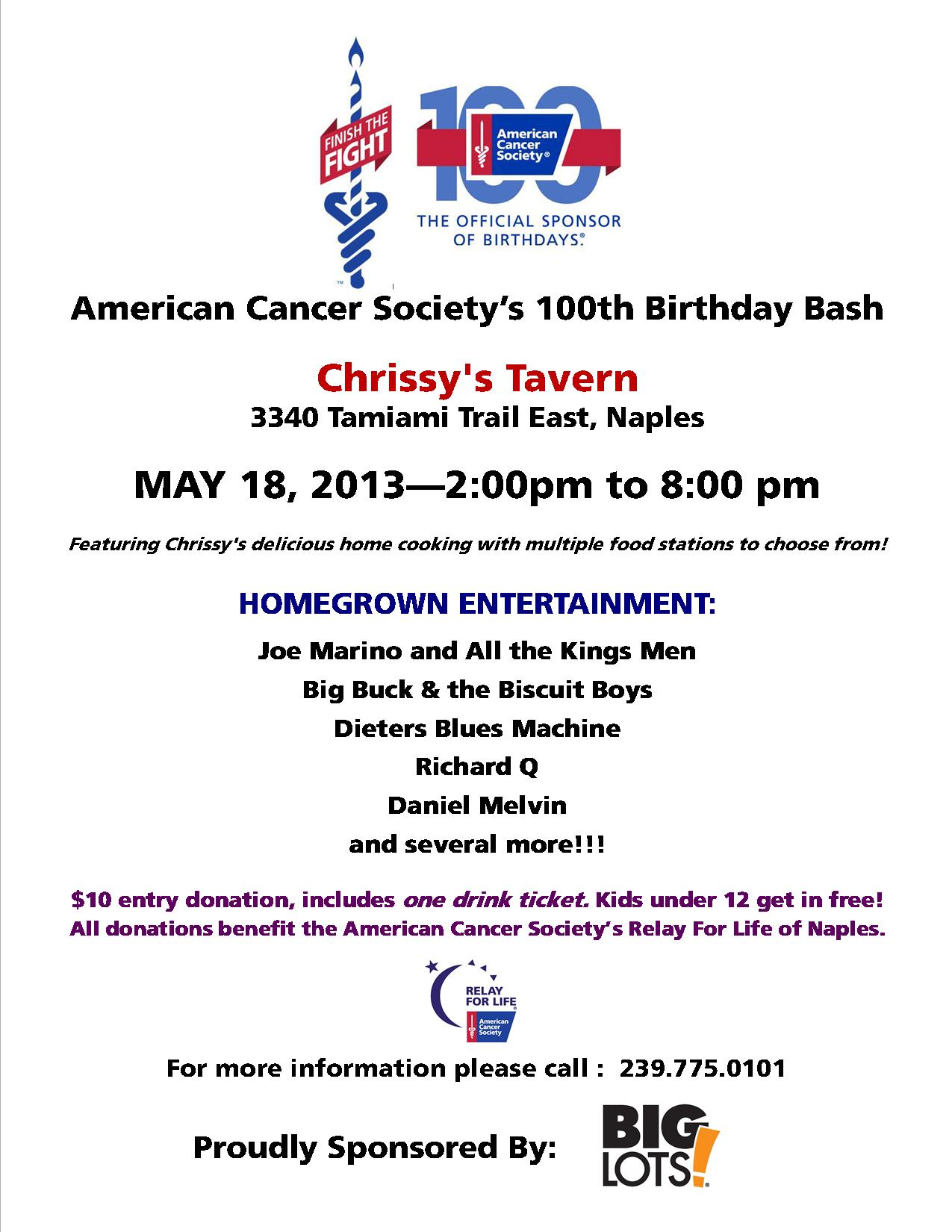 Final 100th Bday flyer